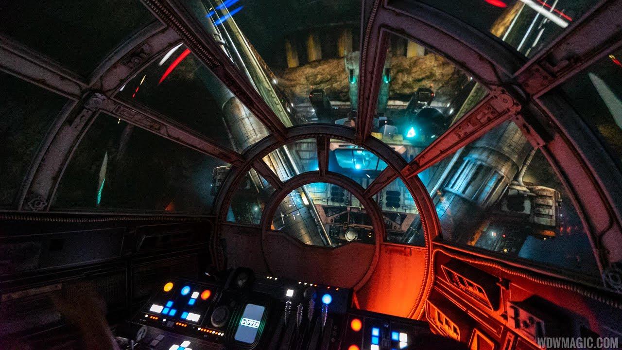 Millennium Falcon: Smugglers Run complete ride