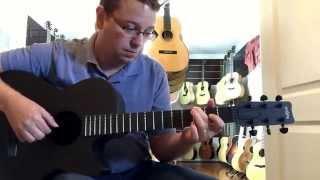 Rainsong Carbon Fiber Guitar Smokey demo