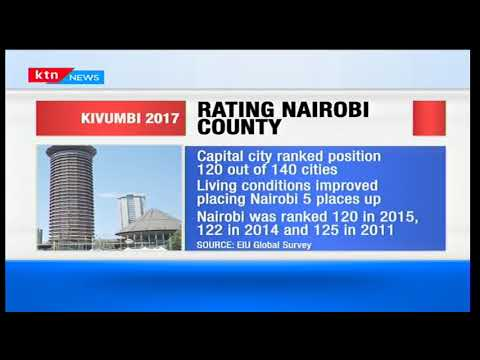 Kenya's Nairobi city living condition improves five positions up