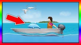 Приключение ГОЛОДНОЙ РЫБЫ #13 ГОЛОДНЫЙ ДЕЛЬФИН Веселая игра как мультик для детей от ДЕТСКИЕ ИГРЫ
