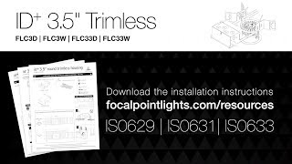 "ID+ 3.5"" Trimless Downlight Installation Instructions"