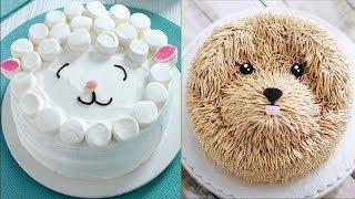 Cute Animals Cake Tutorials !Easy Birthday Cake Decorating Ideas!