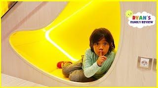 Hide and Seek Pretend Play Fun with Ryan!!!
