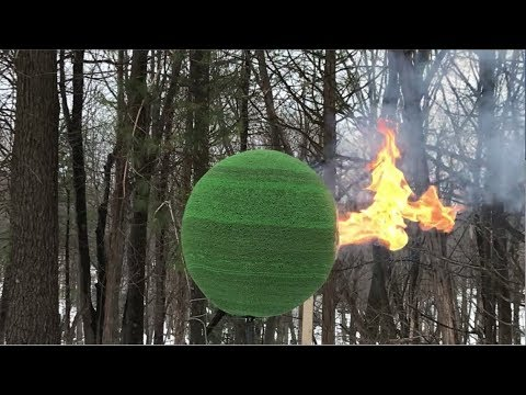 Lighting a Giant Ball of Matches on Fire