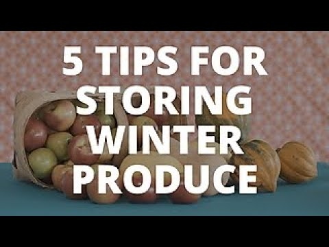 5 Ways to Store Winter Produce - Easy Does It - HGTV