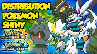 LIVE DISTRIBUTION POKEMON SHINY STRATS LVL 100 GTS ! 6IV ! POKEMON ULTRA SOLEIL ET LUNE