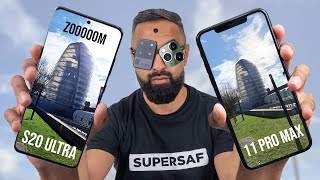 Samsung Galaxy S20 Ultra vs Apple iPhone 11 Pro Max Camera Test Comparison