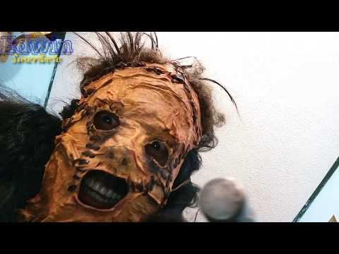 Aprende Como hacer la Máscara Origina Leatherface CareCuero/ Máscara fácil casera Real