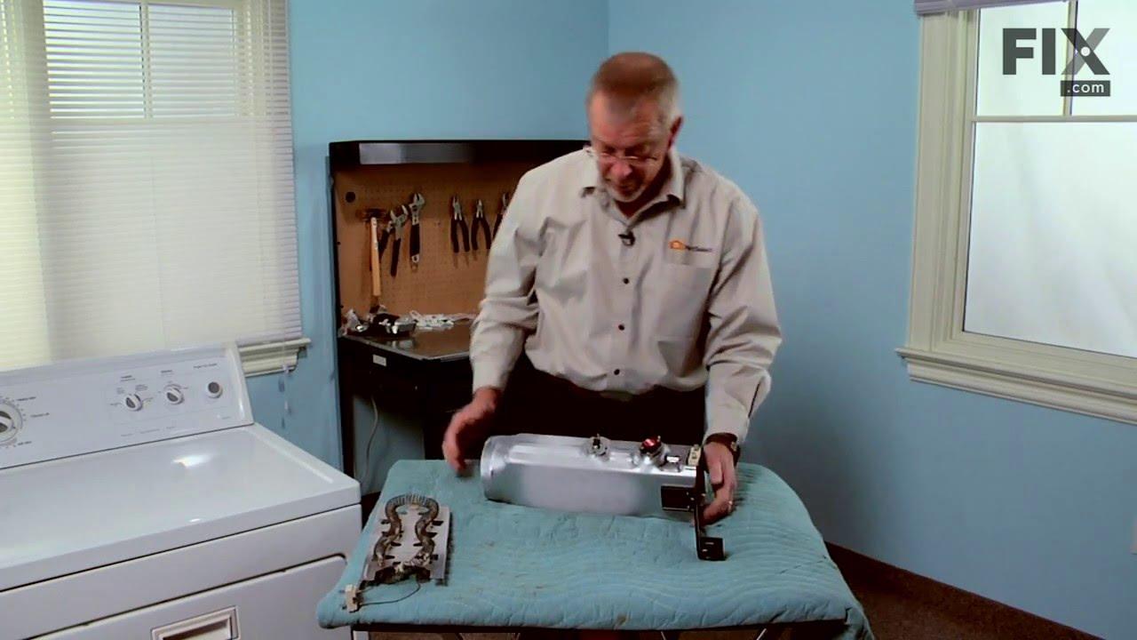 Replacing your Kenmore Dryer Dryer Heating Element
