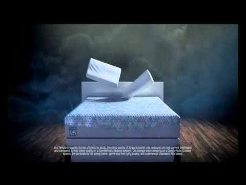 ComforPedic IQ Commercial (2014) (Television Commercial)