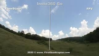 Insta360 Go FlowState vs FPV stabilization