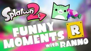 SPLATOON 2 FUNNY MOMENTS W/RANN0! | Juniper