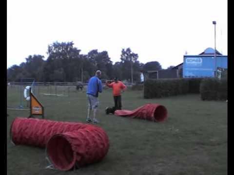 Hondentraining in Cuijk - Manfred en Bella