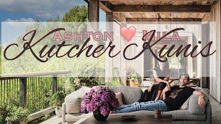 HOUSE TOUR: Take a peek inside Ashton Kutcher and Mila Kunis's MODERN & LUXURIOUS L.A. Farmhouse!