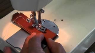 ジャガーMT303 革縫い わくわくミシン工房