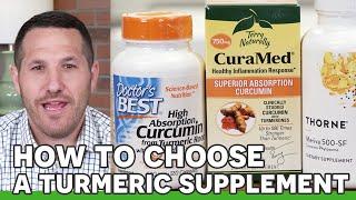 Choosing the Best Turmeric Supplement