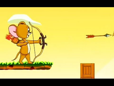 Tom and Jerry / The Archer of Jerry / Jerry Fall Away / Cartoon Games Kids TV