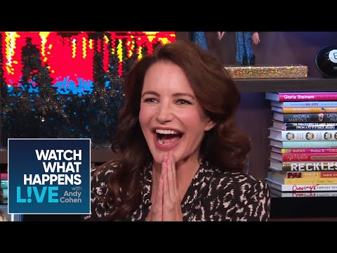 Kristin Davis Dishes on 'Sex and the City'   WWHL