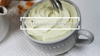 Matcha Latte Mousse - ISI Product Demo Video Tutorial