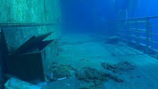 Costa Concordia: New video of the inside of sunken cruise ship