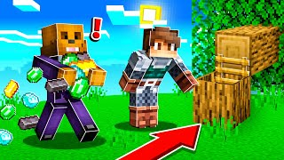 BUILDING the MOST SECRET BASE in MINECRAFT!