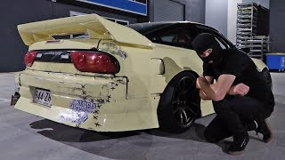 He Street Drifted my 180SX!!! (Mexican Hoon Cartel Ring-leader)