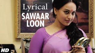 Sawaar Loon Song With Lyrics - Lootera