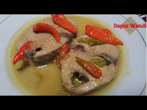 Resep Ikan Tongkol Masak Kuning Cacah Cabe rawit