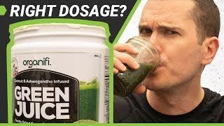 Organifi Green Juice Review (Updated) — What About The Dosage?