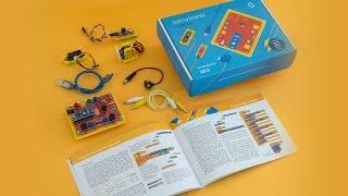 Samytronix Nano KIT - inventor kit arduino based