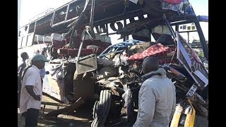 11 killed after bus and truck collide - VIDEO