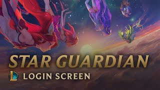 Star Guardian: Burning Bright | Login Screen - League of Legends