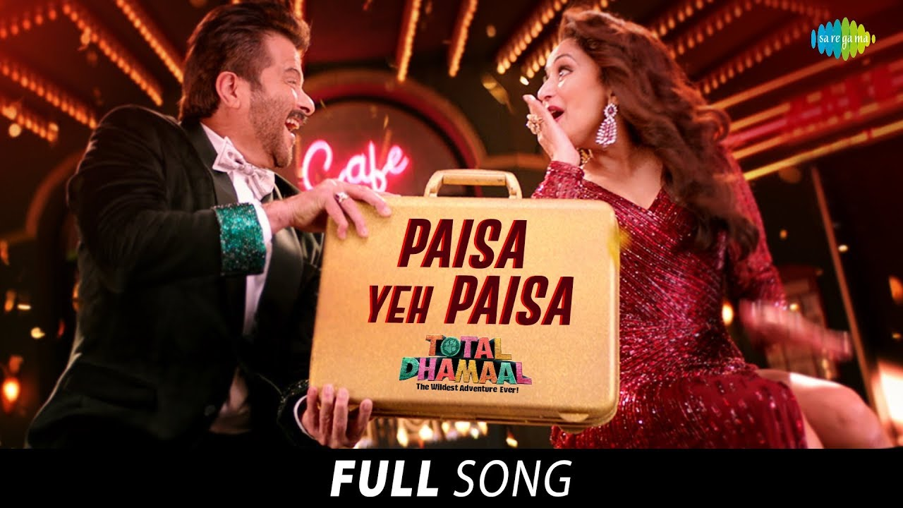 Paisa Yeh Paisa Lyrics - Total Dhamaal (2019) Songs Lyrics - Dev Negi