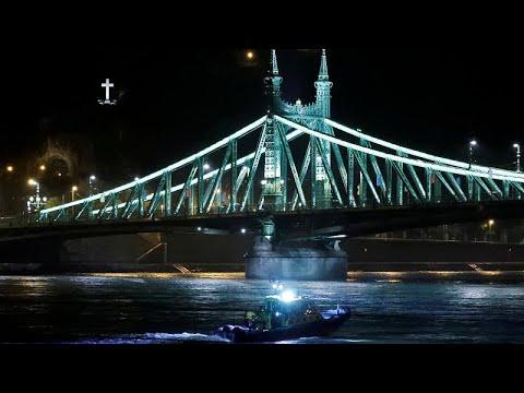 Ουγγαρία: Η στιγμή του δυστυχήματος στον Δούναβη