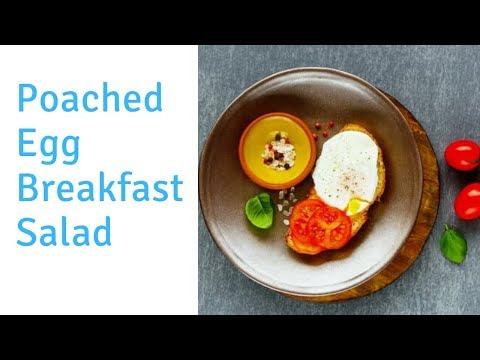 Coo King cuisine Paléo Recipe /  Poached Egg Breakfast Salad