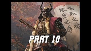 SEKIRO SHADOWS DIE TWICE Walkthrough Part 10 - Sacrifice (Let's Play Commentary)
