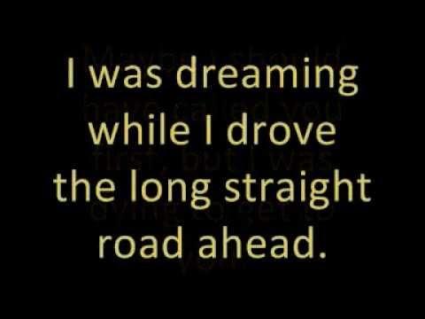 Cyndi Lauper - I Drove All Night (Lyrics)