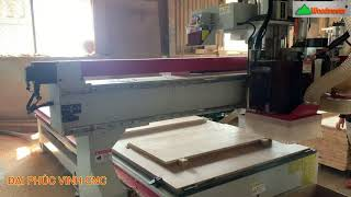MÁY CNC TRUNG TÂM 2.5D Khoan cạnh - khoan 5 mặt - lưỡi cưa cắt 2 chiều X-Y giá tốt nhất vn