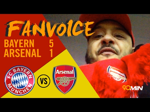 Bayern Munich 5-1 Arsenal | Bayern humiliate Arsenal, time for Wenger to go? |  90min FanVoice