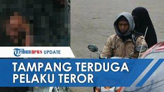 Tampang Dua Orang yang Diduga Pelaku Bom Bunuh Diri Makassar sebelum Beraksi, Berboncengan Motor