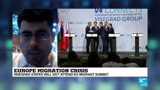 Why did Visegrad states decide to boycott EU migrant summit?