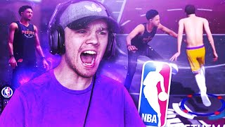 COME BACK OF THE YEAR VS NBA PLAYER 😱 HE COULDN'T GUARD ME!