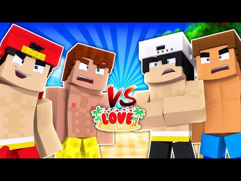 THE BOYS ARE AT WAR ! Minecraft Love Island | Little Kelly