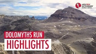 DOLOMYTHS RUN 2018 – HIGHLIGHTS / SWS18 – Skyrunning