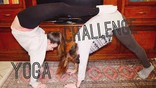 CLAUDIA SI ROMPE LA SCHIENA-Yoga Challenge