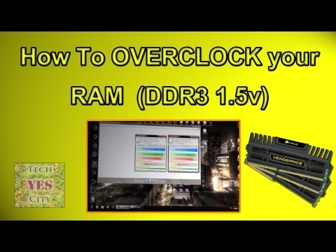 BEGINNER'S GUIDE to Overclocking your RAM (DDR3-1600 1.5v On Z77 Motherboard)