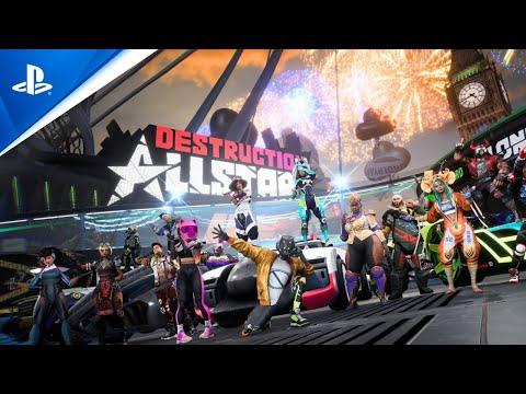 Gameplay Trailer l PS5 de Destruction AllStars