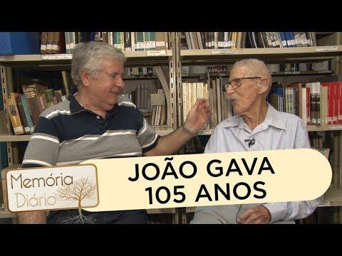 João Gava, 105 anos