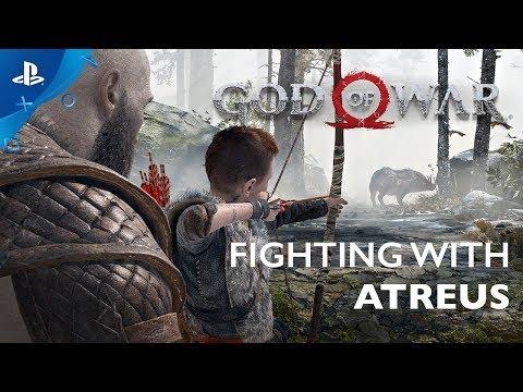 Vidéo sur la relation Kratos/Atreus de God of War