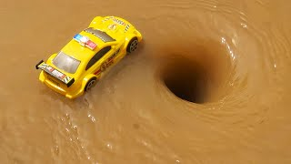 Experiment Whirlpool Hole Vs car along with many other things #09